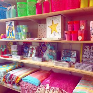 Items for Sale inside Roo's Beach, Porth Newquay