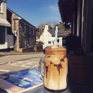 Iced Coffee at the Sorting Office, St Agnes