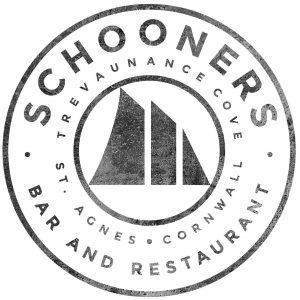 Schooners, St Agnes Logo