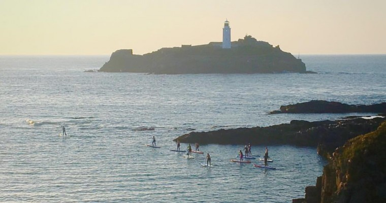 Paddle Board Around Cornwall – WeSUP